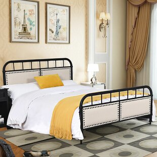 Dawna Full Upholstered Platform Bed