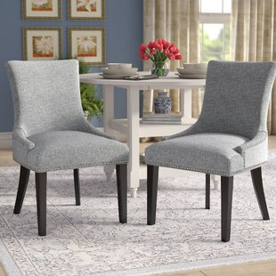 Enfield Upholstered Dining Chair (Set of 2) Red Barrel Studio