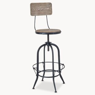 Keller Height Adjustable Swivel Bar Stool By Williston Forge