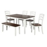 6 - Piece Dining Set by Red Barrel Studio®