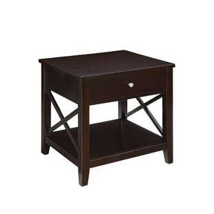 Appleby Wooden End Table by Gracie Oaks