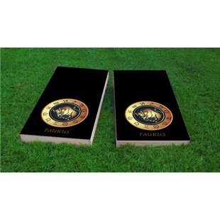 Custom Cornhole Boards Zodiac Taurus Themed Cornhole Game (Set of 2)