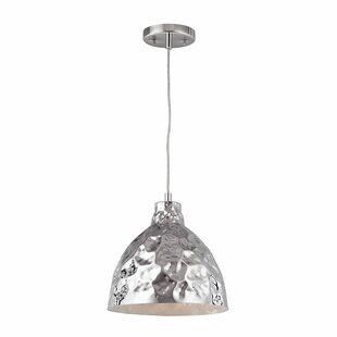 Orren Ellis Aaden 1-Light Bell Pendant