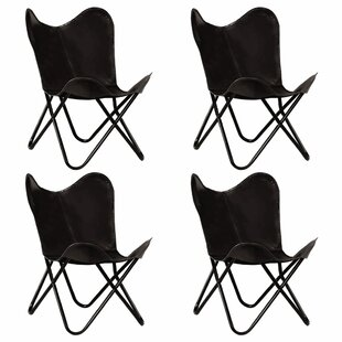 Review Aleta Butterfly Chair (Set Of 4)