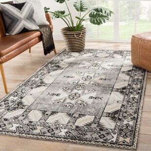 Jamaica Avenue Tribal Gray/Beige Indoor/Outdoor Area Rug