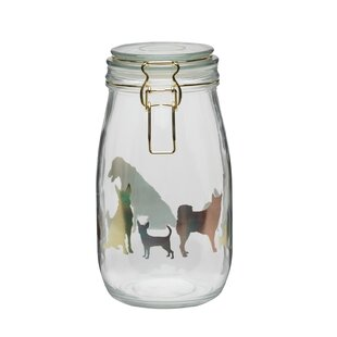 Holographic Dog 51 qt. Pet Treat Jar