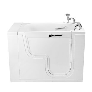 Ella Walk In Baths Transfer26 Wheelchair Accessible Acrylic with Right Out..