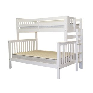 Treva Twin Over Full Standard Bunk Bed by Harriet Bee