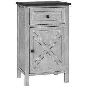 Lamb Farmhouse 1 Drawer Accent Cabinet