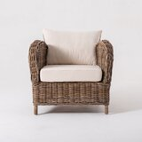 Hogans Wickerworks Club Chair by Rosecliff Heights