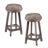 Shiena Bar Stool (Set of 2) by Bayou Breeze