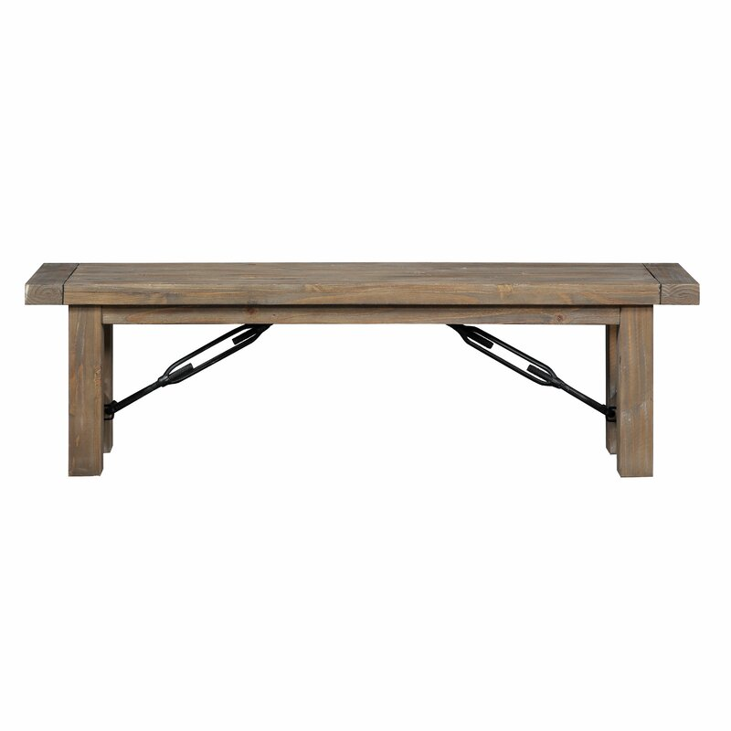 Mistana Dulce Solid Wood Bench