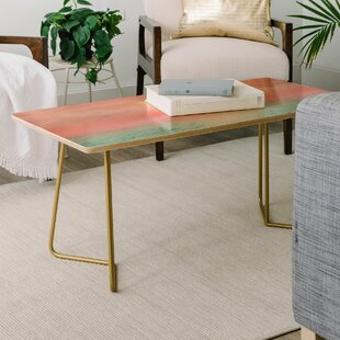 Read Reviews Viviana Gonzalez Calm Sunset Coffee Table by East Urban Home Reviews (2019) & Buyer's Guide
