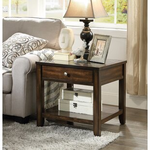 Darby Home Co Diggins End Table With Storage