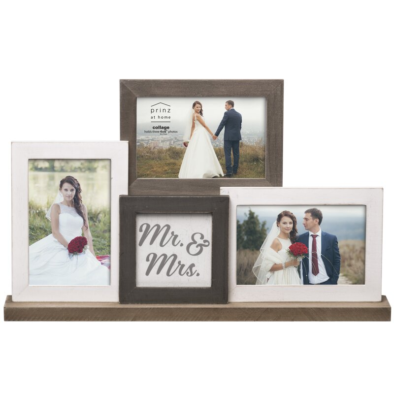 Prinz \'Mr. & Mrs.\' Wedding Mantel Collage Picture Frame & Reviews ...