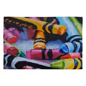 Jenny Grumbles Crayons Kids Rug