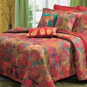 Jordan Cotton Reversible Quilt Set