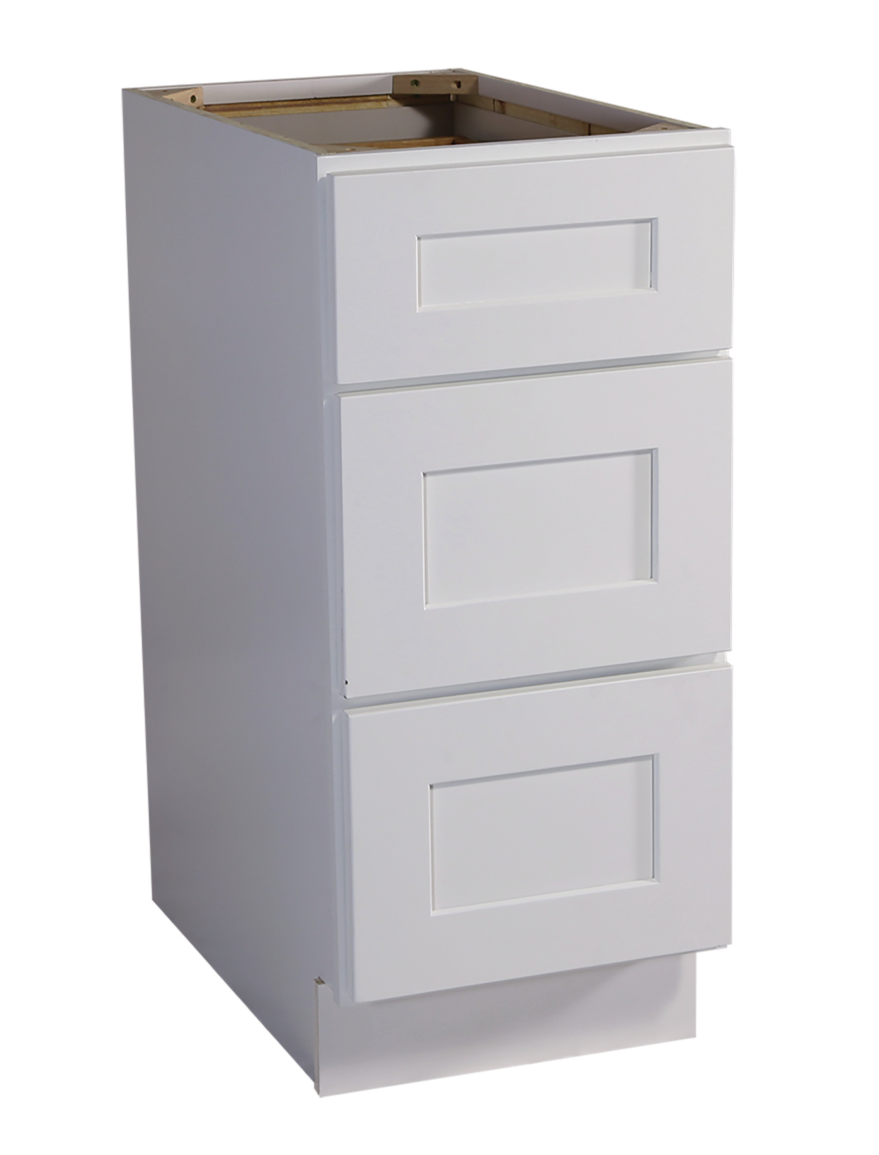 Ebern Designs Frits Fully Assembled 12x34 5x24 In Kitchen Drawer Base Cabinet In Espresso Wayfair