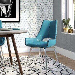 Brayden Studio Kimbell Bucket Upholstered Dining Chair