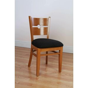 Coinback Side Chair in Chenille - Wheat (Set of 2) by Benkel Seating