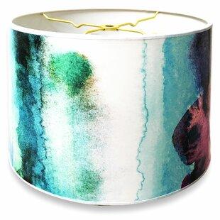 Designer Hard Back 10 Paper Drum Lamp Shade