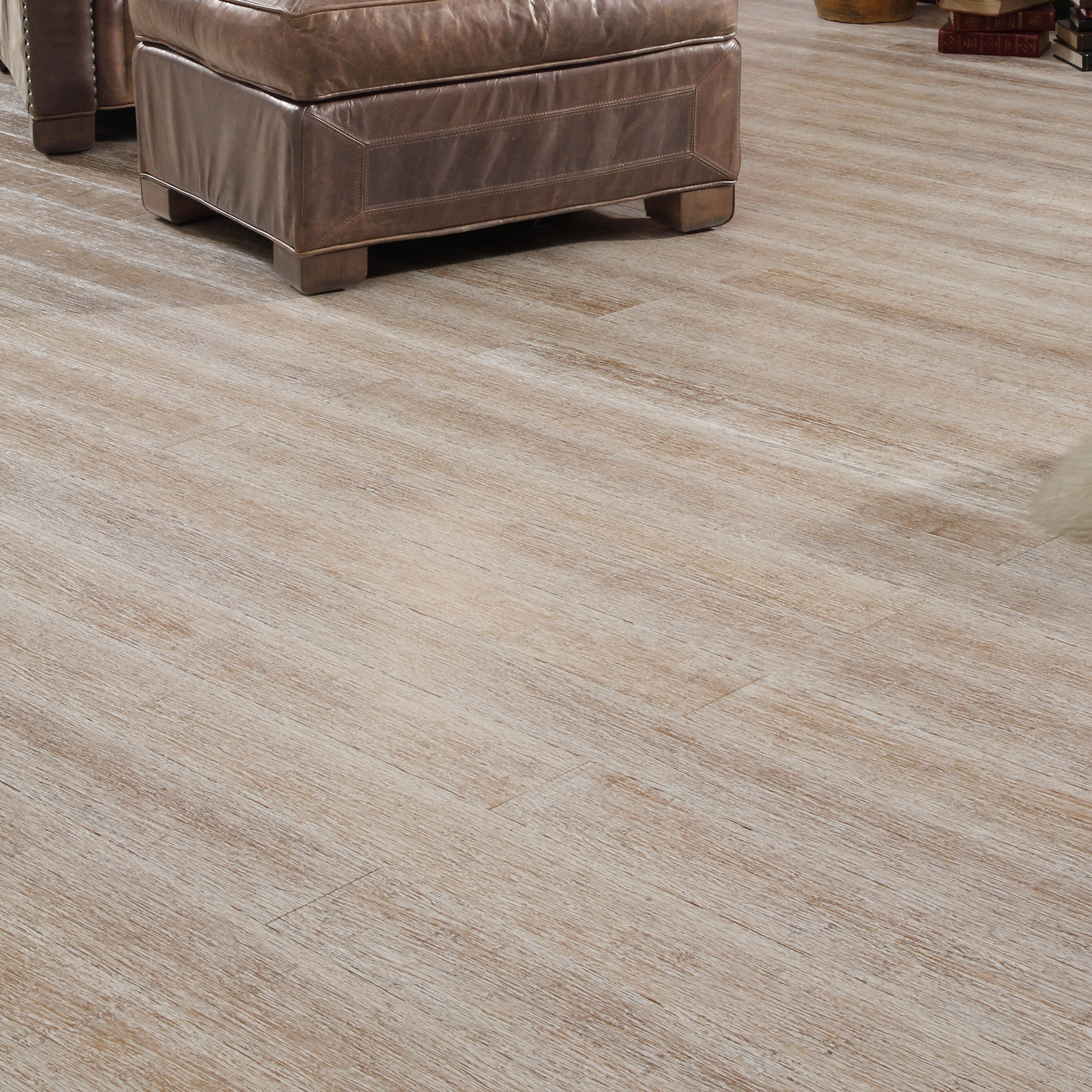 "Easoon USA 4 3 4"" Solid Strand Woven Bamboo Flooring in Winter"