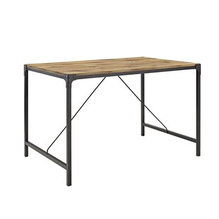 Review Orchard Hill Angle Iron And Wood Dining Table