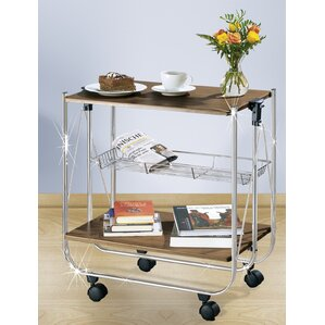Dinett Catering Trolley Bar Cart by Wenko Inc