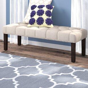 Amazing Almaraz Upholstered Bench Andrewgaddart Wooden Chair Designs For Living Room Andrewgaddartcom