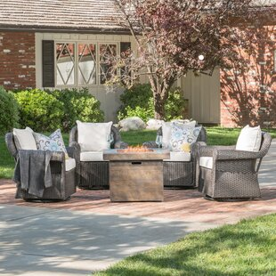 Darby Home Co Jillian Patio Chair with Cu..