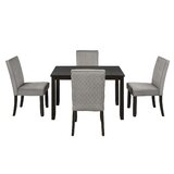Kwame 5 Piece Dining Set by Red Barrel Studio®