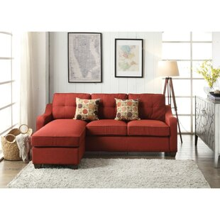 Wilmington Reversible Sectional by Charlton Home Best #1