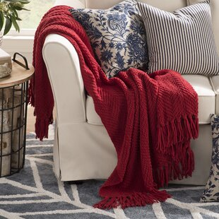 Red Blankets & Throws You\'ll Love | Wayfair