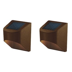 Deck Impressions Solar 2 Light LED Deck Light (Set of 2)