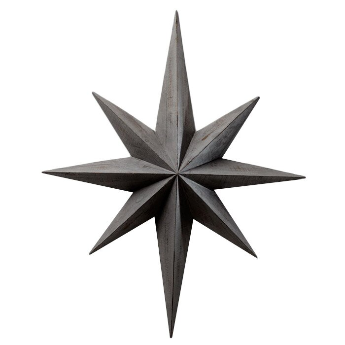 Star Wall Décor #metalstar #homedecor