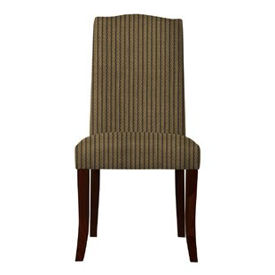 Red Barrel Studio Lasseter Stripe Parsons Chair (Set of 2)