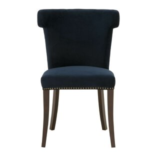 Manila Upholstered Dining Chair by Everly..