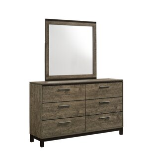 6 Drawer Double Dresser With Mirror by Lane Furniture Cool