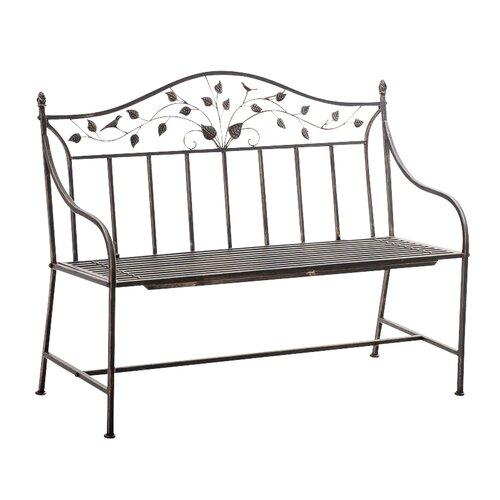 Gartenbank Shispare aus Eisen | Garten > Gartenmöbel | Bronze | Eisen - Metall - Rattan - Polyester | Home & Haus