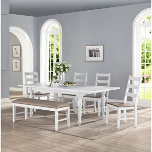 Spurgeon 6 Piece Extendable Dining Set by August Grove Best