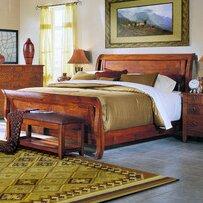 Klaussner Furniture Baxter Sleigh Bed