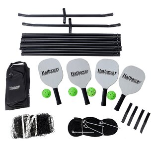 Hathaway Games Deluxe Pickleball Game Set