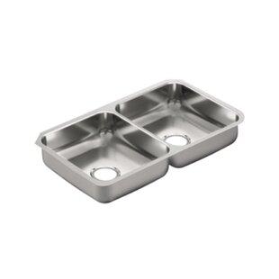 Moen 2000 Series Double Bowl Kitchen Sink