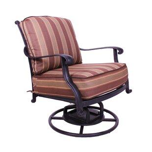 Islais Swivel Patio Chair with Sunbrella Cushions