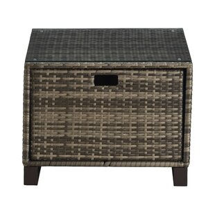 Tommy Hilfiger Oceanside Outdoor Wicker Side Table