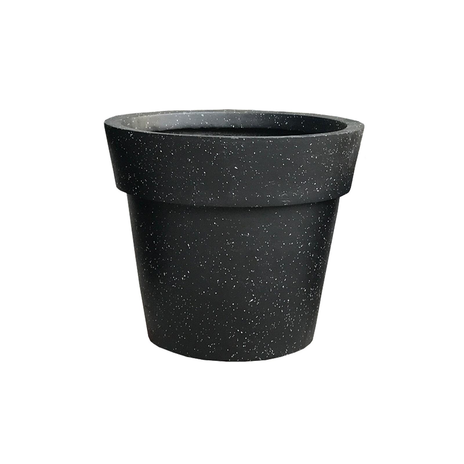 Charlton Home Nikhil Stackable Concrete Pot Planter Wayfair