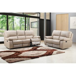 Red Barrel Studio Claverton Air Reclining Upholstered 2 Piece Living Room (Set of 2)