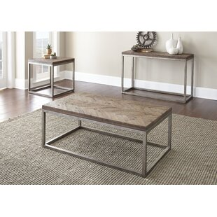 Kenton 3 Piece Coffee Table Set