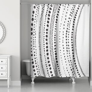 Cao Mod Dots Single Shower Curtain