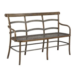 Lopresti Chevell Metal Bench by Gracie Oaks